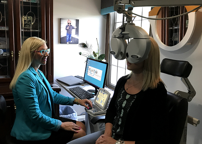 At Visual Eyes, we are passionate about our patients eyes and provide a complete and comprehensive eye exam that covers all aspects of eye health for all age ranges.